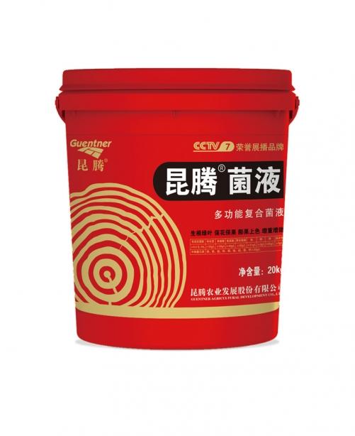 膨果上色微生物菌肥昆腾菌液微生物菌剂液体生物有机肥