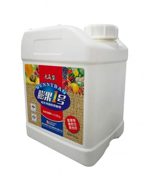 膨果着色优质菌肥大麻袋5kg微生物菌剂膨果一号